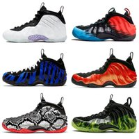New Penny Hardaway Foams One Alternate Galaxy Chrome White m...