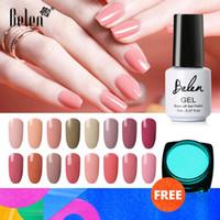 Belen 7 ml Grey Nude Pure cor das unhas Gel Polish UV Lâmpada LED Nail Art polonês Lacquer Soak Off híbrido Nail Art Gel Verniz DIY