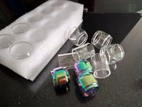 Hot Tubo De Vidro Tubo De Vidro Do Arco Íris para TFV8 Bebê V2 Atomizador Tanque Mag Grip Starter Kit
