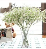 20 PZ 58 cm Rustico fiore artificiale interspersion mantianxing decor per la casa tavolo da sposa fiore di plastica Gypsophila babysbreath