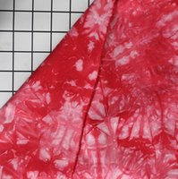 Mode 50 * 150 Red gefärbte Denim Gewebe Kleidung Wolke Pflanze curtain Tischtuch Nähmaschine Patch Textilien Polyestergewebe C847 DIY binden