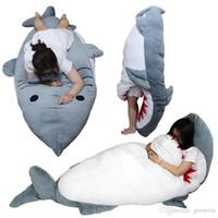 79 '' / 200 centimetri Shark Sacco a pelo gigante farcito di morbido peluche Bed k349 tappeto tatami materasso divano Nizza regalo di trasporto