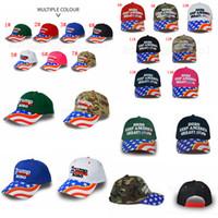 14styles Donald Trump Baseballmütze Star USA Flag Camouflage Kappe Keep America Great 2020 Hat 3D Stickerei Brief einstellbar Snapback FFA2769
