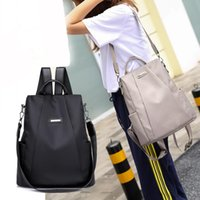 Women Travel Backpack Travel Bag Anti- Theft Oxford Cloth Bac...