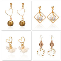 New exaggerated Metal big circle atmospheric disc multi-level fashion retro round boho style Round beads hollow ladies earrings