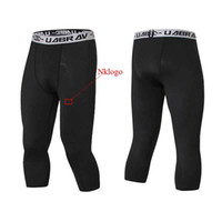 NOVITÀ 2019 estate autunno magro GYM Collant running capris stretch traspirante quick dry pro allenamento di calcio pantaloni legging
