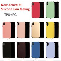 2 in 1 liquid silicone tpu + PC phone case for iphone 6s 7 8 ...