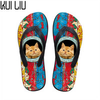 Customized New 2019 Fashion Women Rubber Flip Flops Cute Pet...