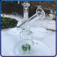 7.3 polegadas Hitman Samll Mini Bong Grosso Glass Bong Tubulações de Água Cachura Heacos Heady Dab Rigs Petróleo Waterpipe com 9mm Conjunta reciclador cera