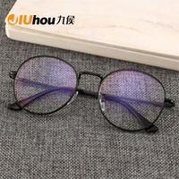 Siyah gözlükler Cep Telefonu Gözlük Radyasyon Mavi Işık Erkekler Düz Ayna Bilgisayar Cam Karşıtı Blue Ray Cam Sil Büyük