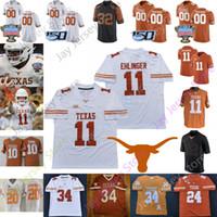 2020 de Texas Longhorns Jersey de fútbol americano universitario NCAA, Michael Griffin, Aaron Ross Johnson Ricky Williams Davis Mike Williams Roy Williams Benson