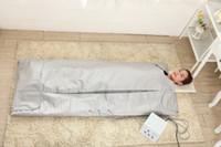 600 W PVC 3 zone A Raggi Infrarossi Linfodrenaggio dimagrante sauna coperta di perdita di peso de80 gradi di riscaldamento 3 zone sauna a raggi infrarossi coperta mantiene il grasso lontano
