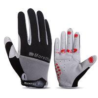 Motorrad Radfahren Handschuhe Lange Finger Gel Touchscreen Rennrad Fahrrad Handschuhe Männer Frauen Reiten Volle Finger