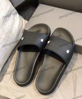 Para mujer para hombre verano zapatillas sandalias grueso Parte Inferior impresa letra antideslizante informal tirón de la playa huaraches Mocasín Zapatillas Flops 35-45