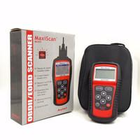 Maxiscan Ferramenta de diagnóstico MS509 AUTEL MS OBDII OBD2 EOBD Código Automotivo Reader Scanner Trabalho para o carro europeu asiático dos EUA