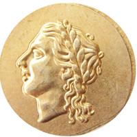 G (30) SYRACUSE SICILY 310BC Auténtico antiguo GREEK Electrum Coin