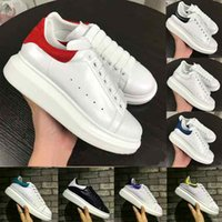 White Mens Womens Chaussures Shoes Designer Casual Platform ...