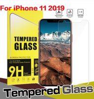 Film en verre trempé de qualité supérieure pour Apple iPhone 11 Pro 12 Mini XR max 6 6S 7 8 Plus x XS XR Max Screen Protector Protecteur avec emballage