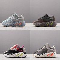 2020 Kids Casual Shoes Kanye West Wave Runner V2 Zapatos Juveniles Trainers Scly 700 Jóvenes Entrenadores Diseñador Zapatillas de deporte para niños Tamaño 26-35