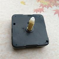 도매 10pcs 스윕 높은 토크 28mm 샤프트 쿼츠 시계 운동 침묵 키트 스핀들 메커니즘 3 무기 무료 배송