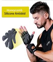 Halbfinger fitness handschuhe dünne sport schweißabsorbierende anti dünne sport schweißabsorbierende anti-skid handtraining ruderhandschuhe