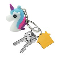 1PC Cute Unicorn Keychain Animal Keyring Bags Pendant Charms...