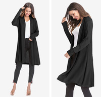 Womens Thin Section Openwork Sweater Coat Fashion Long Sleev...