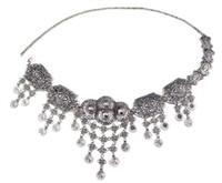 米国の倉庫欧米の人気のボヘミアの金のコインタッセルメッキ銀の腰の鎖の女性の飾り記事腰鎖女性ジュエリーGIF