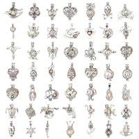 Hollow Out Flowers Sound locket cage locket Collane con pendente per donna Apertura collana medaglione galleggiante