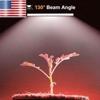 Full Spectrum LED crece luces EE.UU. Almacén barato libre llevada crece la luz 60 CM Grow tubo de luz de espectro completo esmerilado 2 en paquetes
