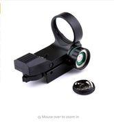 Jakt airsoft projicerad röd laser grön dot reflex synvinkel 20mm picatinny mount svart riflescopes teleskopisk syn
