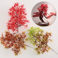 Ramo de pinho Flor Home Decor Casrving Raiz de Árvore Artificial Decore Folhas De Bordo Flores Com Alta Qualidade 4 2wx J1