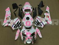 Top Inyección calidad moldeo ABS llena de la motocicleta kit del carenado en forma para CBR600RR F5 2005 2006 libre de la aduana del rosa Repsol