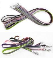 S-XL Reflektierender Leder Hundehalsband Personalisierter gravierter Hundekragen benutzerdefinierte Welpenkatze Pet-Halsbänder ID-Tag für kleine mittelgroße Dog VT0877