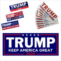 HOT 5 Styles Donald Trump 2020 Car Stickers 7. 6*22. 9cm Bumpe...