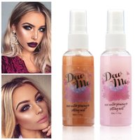 Make-up-Einstellung Spray Gesicht Moisturizer Sahne-Basis De Maquillaje Matte Finish Flasche Rahmen Sprühöl-Control 50ML Einstellung Spray
