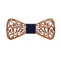 جديد زهري الخشب بابيون للرجال ربطة الجوف الفراشات الزفاف ربطة خشبية قميص krawatte حر bowknots سليم التعادل
