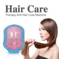 العلاج بالليزر نمو الشعر خوذة جهاز العلاج بالليزر مكافحة تساقط الشعر تعزيز نمو الشعر معدات الليزر كاب تدليك