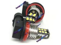 AUTO H8-H11-2835-15 SMD LED fendinebbia lampada da corsa lampadina tornando lampadina del parcheggio DC12V Auto LED luce