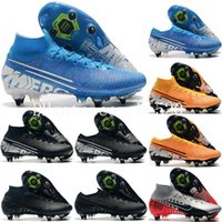 New Mens Mercurial Vapors XIII Elite SG Football Shoes Neyma...