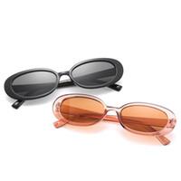 Moda Kadın Erkek Oval Güneş Gözlüğü Marka Tasarımcısı Küçük Çerçeve Güneş Gözlükleri Uv Gözlükler Gözlük Gözlüğü SUN Gözlük A + +
