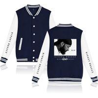 Men's jackets nipsey hussle Baseball uniform printing Single-breasted Fashion 2019 men's clothes Casual long sleeve Loose large