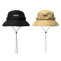 Savage Windproof Corda Bucket Chapéu Senhoras Mulheres Homens Sol Brim Pesca Chapéu de Pesca Cap Panamá Pop Hip Haujuku Caça Ao Ar Livre Verão