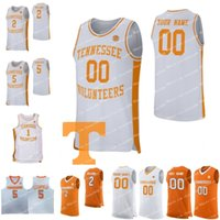 Custom 2019 New Tennessee Volunteers Basketball 2 Grant Williams 5 Admiral Schofield 0 Knochen Irgendein Name Anzahl orangeweißes Jersey