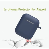 Earphones Protector Silicone Skin Case For Apple Airpods Ant...