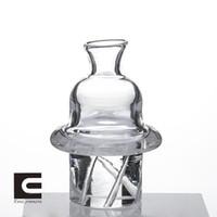 유리 회전하는 carb 캡슐 석영 Banger 손톱 2mm 깡패 Dabber 유리 밥 Dab 오일 조작에 대 한 돔