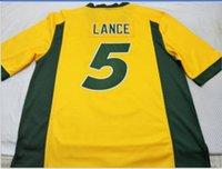 사용자 정의 남성 청소년 여성 ND 주 들소 트레이 랜스 # 5 축구 유니폼 사이즈 S-5XL 또는 사용자 정의 어떤 이름이나 번호 저지