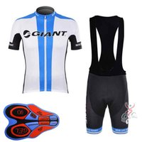 New Arrival. 2019 GIANT team Cycling Short Sleeves jersey (bib) shorts sets  9D Gel Pad MTB ... a1f1c4e53