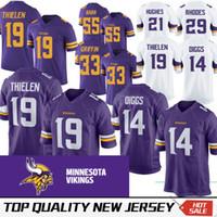 0428f3a8d 2019 Mens 19 Adam Thielen Minnesota Vikings Football Jersey 100 ...