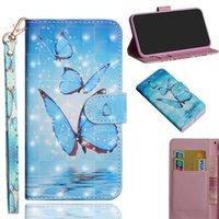 Flip luxus pu leder telefon case für sony xperia xz1 xz2 kompakte xz2 premium xz3 l1 L2 case rückseitige abdeckung 3d vision gemalt muster telefon case